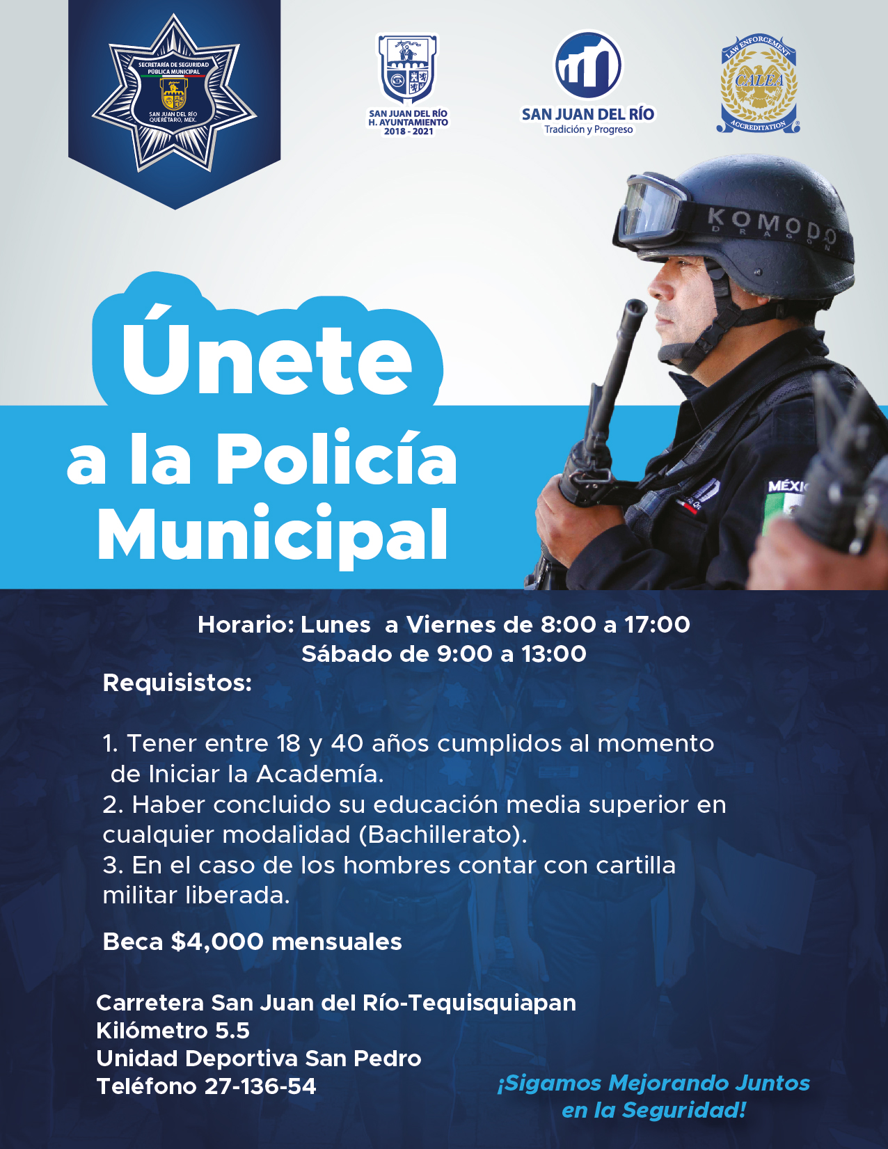 Unete A La Policía Municipal